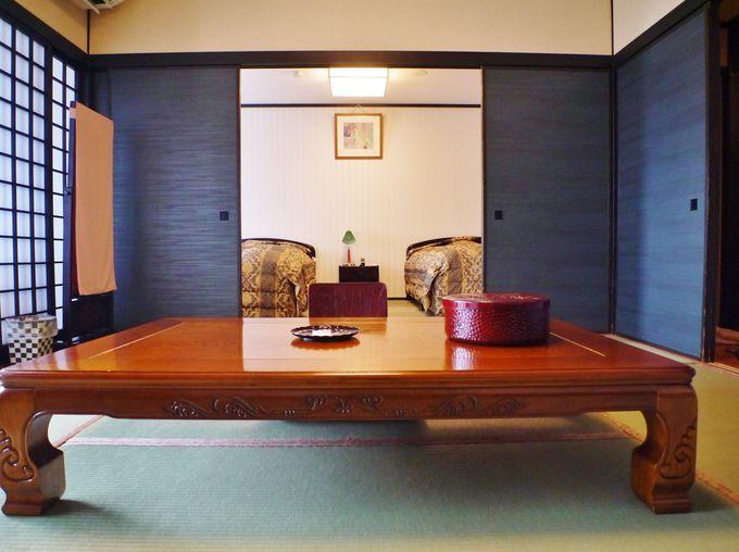 快適な広々和洋室