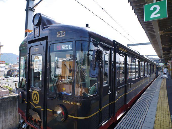 観光列車「丹後くろまつ号」「丹後あかまつ号」「丹後あおまつ号」