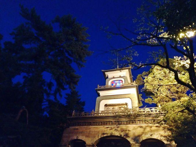 1日目夜:金沢は夜の観光も見逃せない!