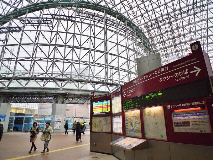 1日目午前:金沢駅に到着!さあ、観光の準備をしよう!