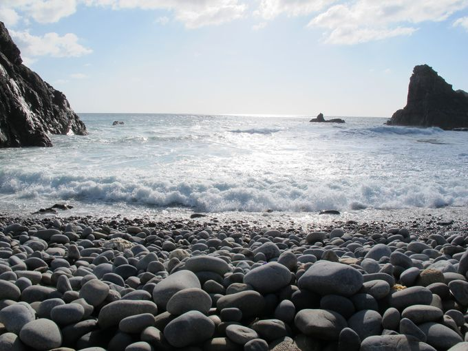 ホノホシ海岸の不思議な言い伝え