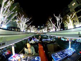 「東京レストランバス」で時短観光!多忙な大人の美食と夜景