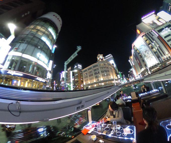 これぞ東京!銀座と東京駅をオープントップで楽しむ