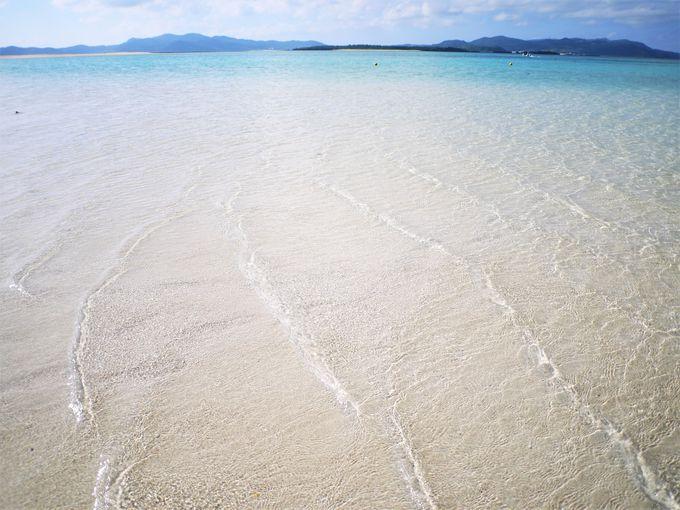 東洋一美しい島「ハテの浜」