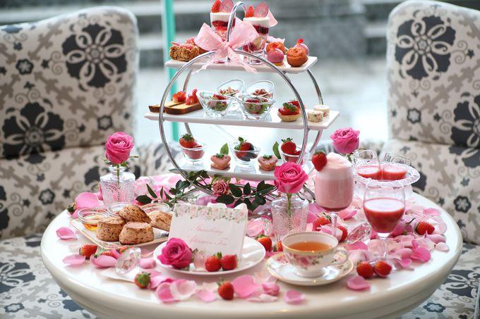 心ときめく予感…「バラ薫る魅惑のストロベリーアフタヌーンティー」