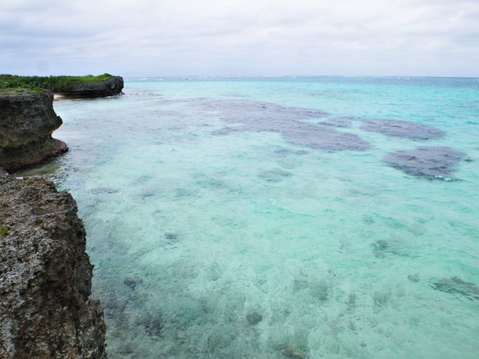 静かな池間島の絶景スポット