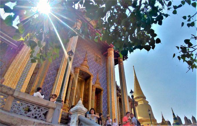 2日目PM:これぞタイ!煌びやかな王宮と寺院