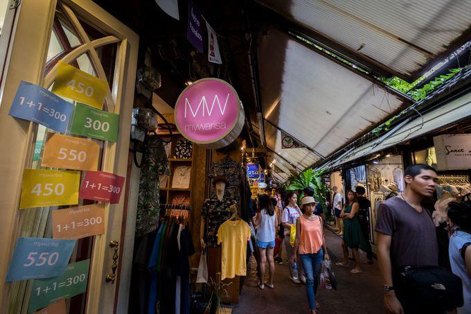 2日目AM:賑やかな街でグルメとショッピング!