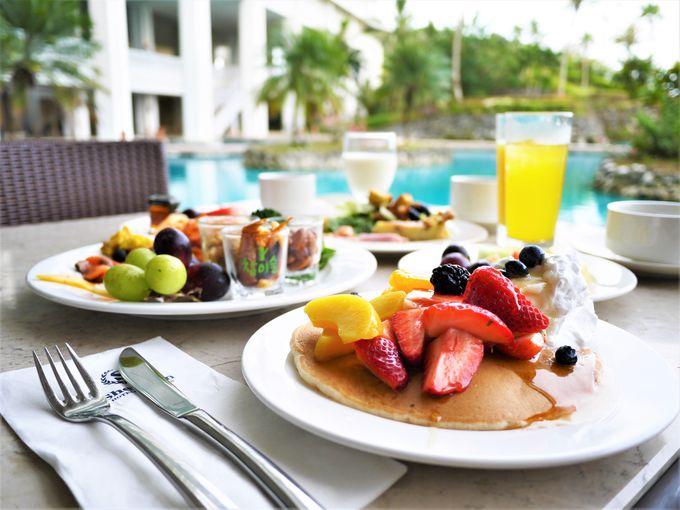 ホテルステイ重視なら朝食のクオリティも大切