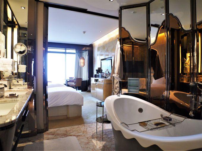 どの部屋でも満足度の高いホテルステイが楽しめる