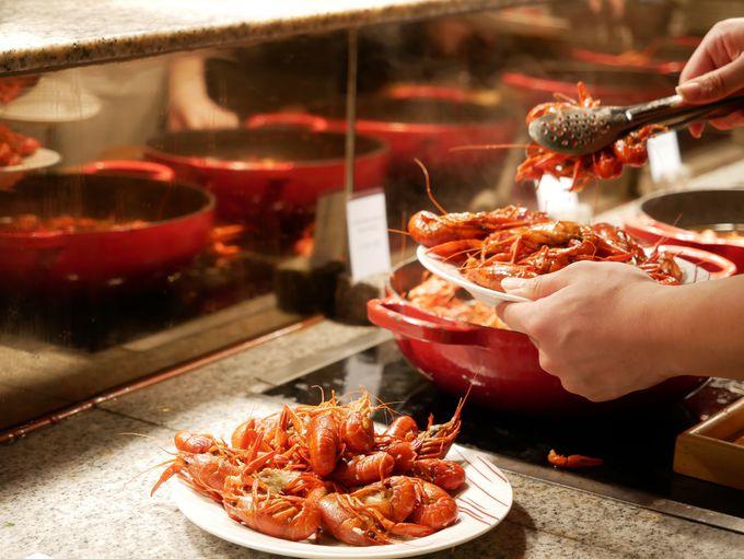 ザリガニ料理をいただくなら「ザ・ポートマン・リッツカールトン上海」