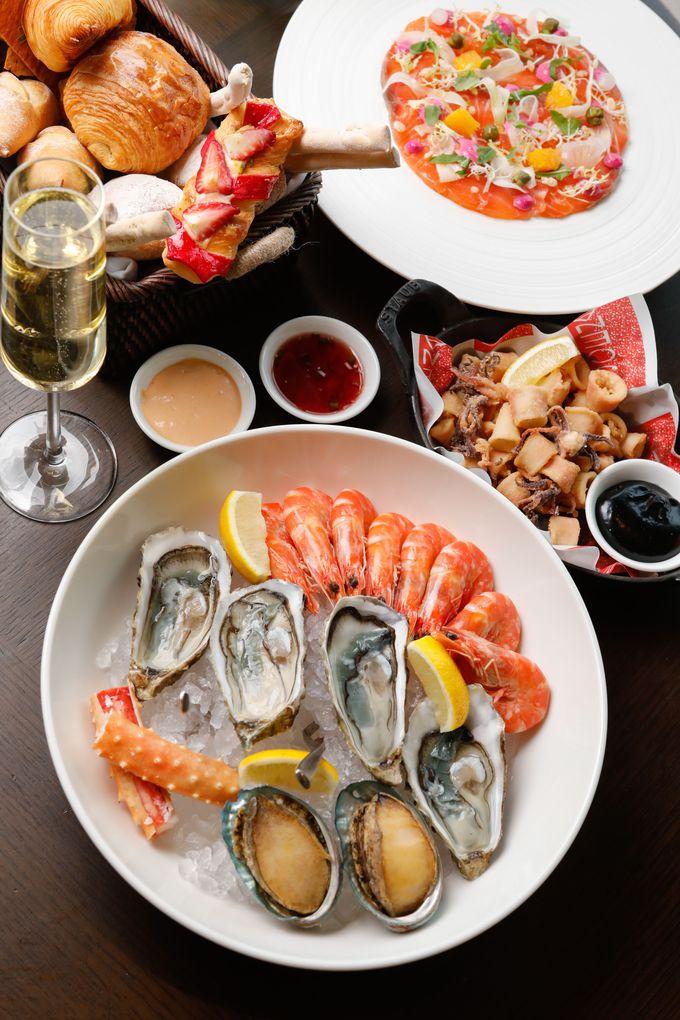 サンデーブランチとアフタヌーンティーが楽しめる「Scena Italian Restaurant」