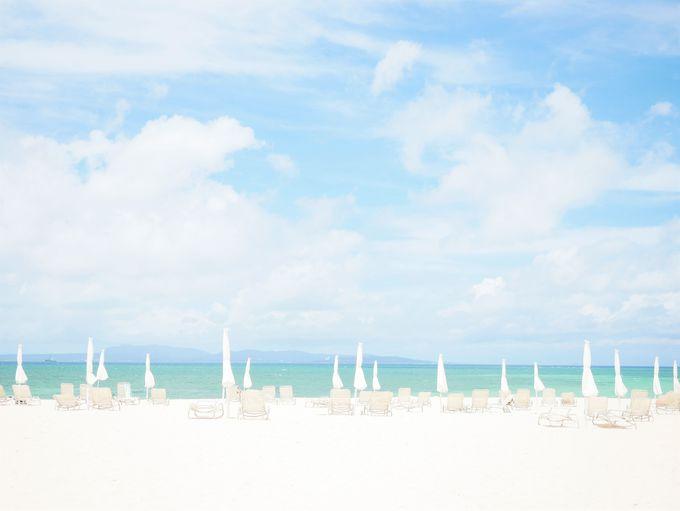 日本離れした光景「オクマ プライベートビーチ & リゾート」