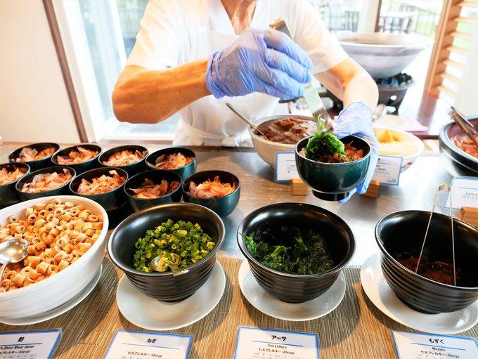沖縄らしい朝食が楽しいビュッフェレストラン「サーフサイド・カフェ」