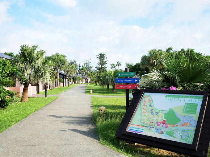 豊かな緑と青い海!「オクマ プライベートビーチ & リゾート」