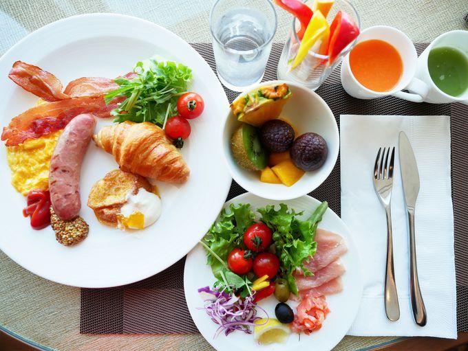 クオリティの高い感動朝食!