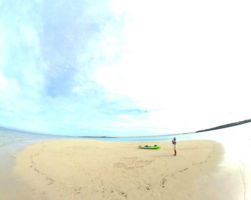 3日目午前:幻の「ゆにの浜」を目指せ!