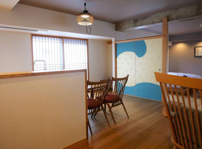 全てデザインの異なる10の客室