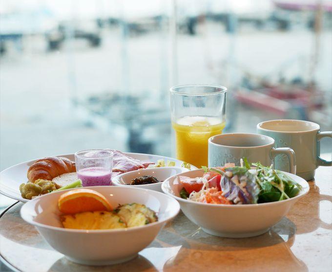 ホテルローカスの充実の朝食