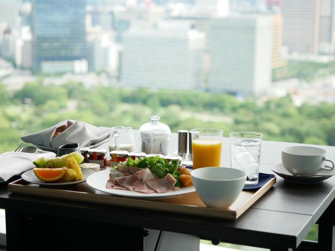 東京の躍動を感じながら朝の時間を過ごす