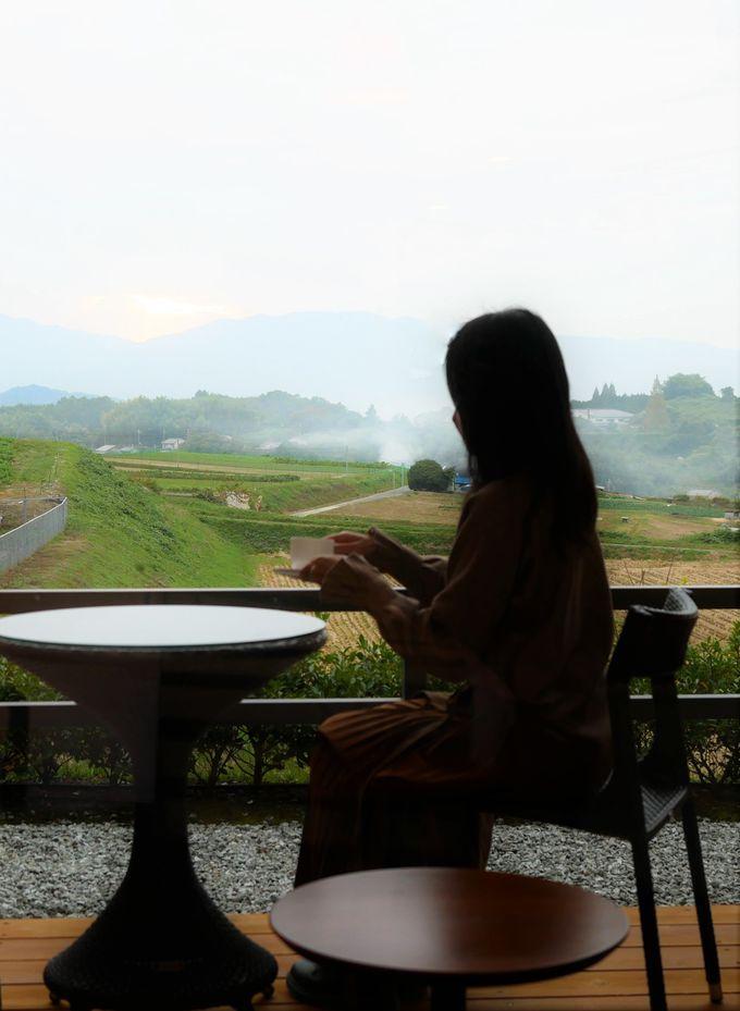 """遅めの朝食で""""急がない旅""""を楽しむ"""