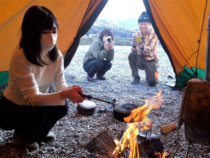 吉野川で楽しめるアウトドア