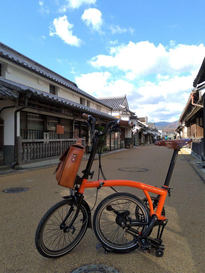 脇町をゆる〜くサイクリング