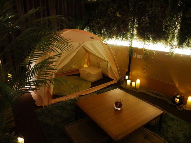 ホテルで星空グランピング!リーガロイヤルホテル京都×セガトイズの本格的なギャラクシーナイト