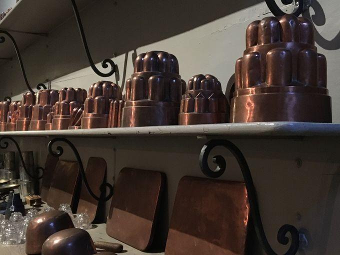 3世紀にもわたって王家の食卓を支えた厨房