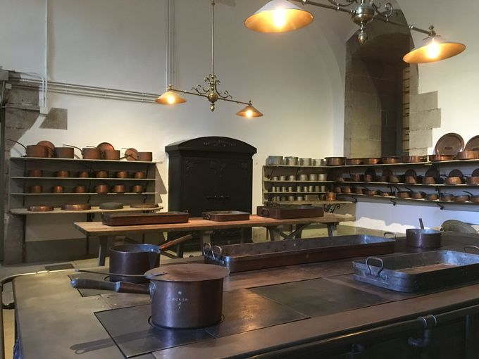 内戦後も2011年まで使用された厨房