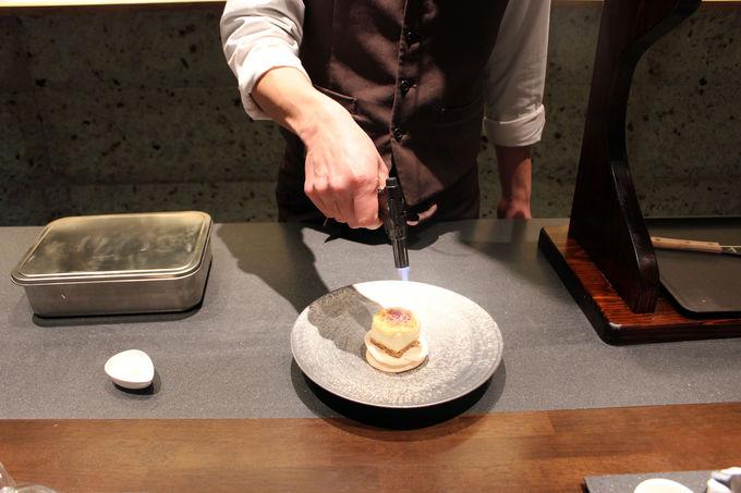 まさに「コース料理」五感で楽しむモンブラン