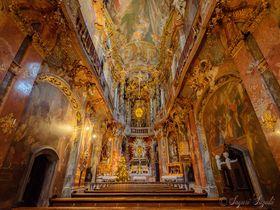 バロック様式の傑作!ミュンヘン「アザム教会」