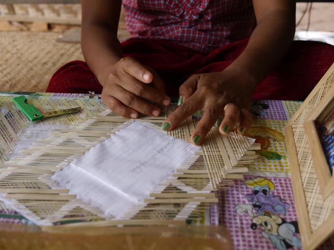 ぜひ立ち寄りたい織物の村「ミン・ナン・トゥ村」