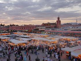 世界遺産の街・マラケシュへ!朝から晩までフナ広場を満喫しよう