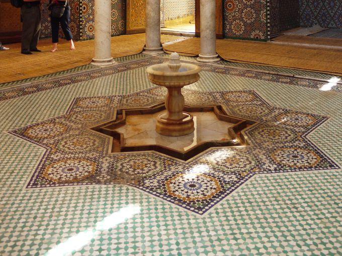非ムスリムでも入場できるムーレイ・イスマイル廟へ