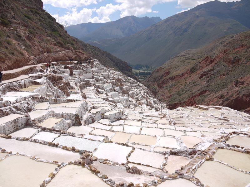 ペルー・クスコから足を延ばしてマラスの塩田&モライ遺跡へ