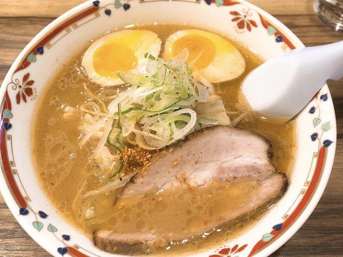 王道の札幌味噌ラーメン「狼スープ」