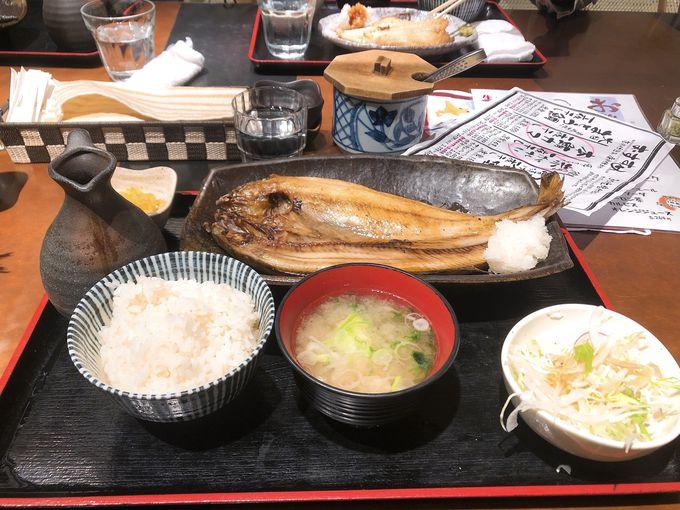 気軽に海鮮を味わうなら!「一夜干しと海鮮丼 できたて屋」