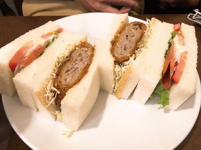 札幌の老舗店で美味しいサンドウィッチを!「さえら」