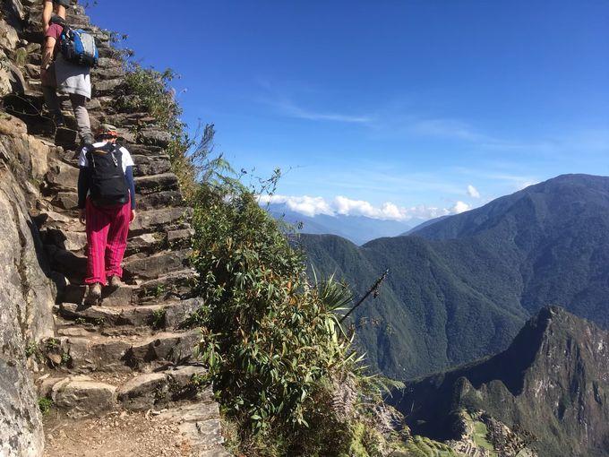 マチュピチュ山登山は難易度高め!