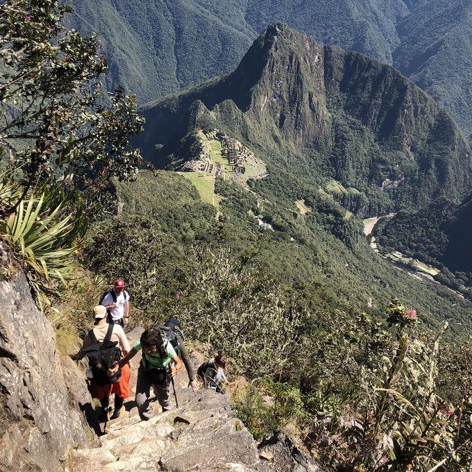マチュピチュ山の頂上で絶景を堪能しよう