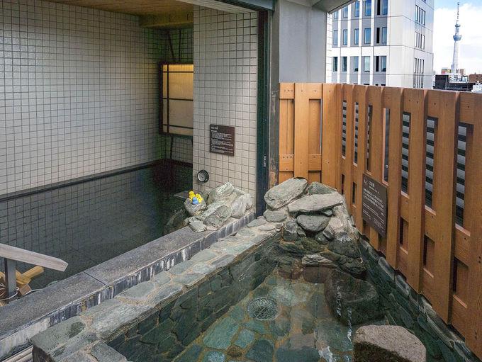 超軟水の大浴場は女性もオススメ