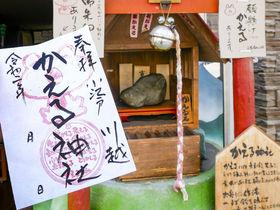 カエルの御朱印がメッチャ可愛い!川越「かえる神社」