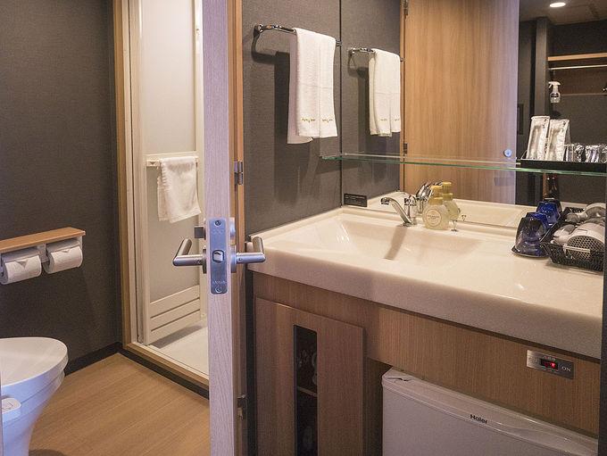 快適に過ごすための客室備品