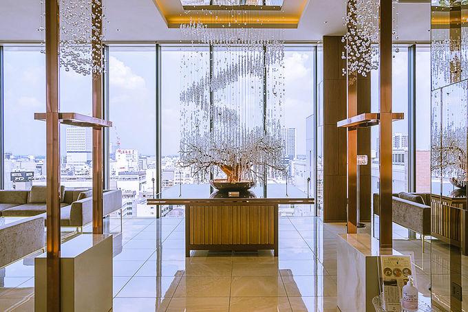 埼玉屈指のラグジュアリーホテル