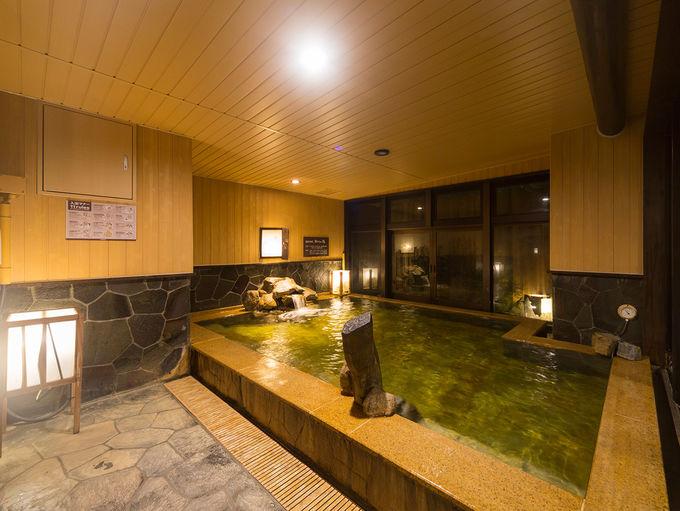 東京の都心で温泉に浸かる