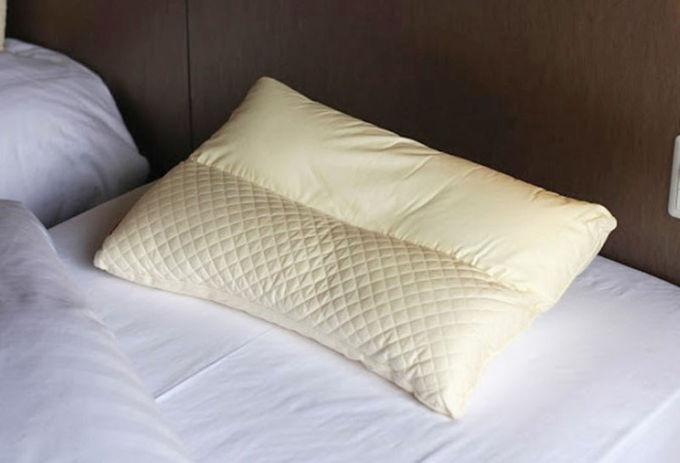 こだわりの枕で質の高い睡眠を