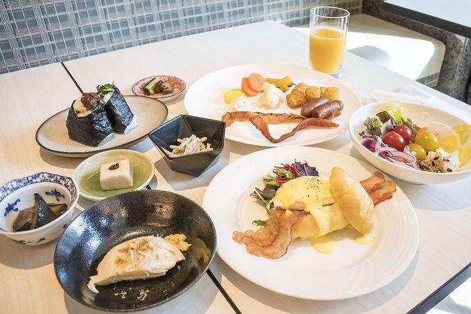 朝食ビュッフェはハイレベル