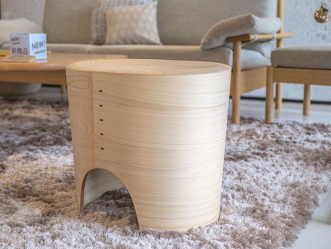 日本の美を込めた椅子