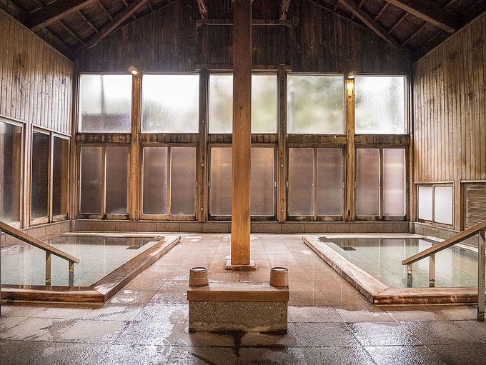 2種類の源泉を引く3つの大浴場